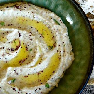 Borlotti Bean and Courgette Hummus
