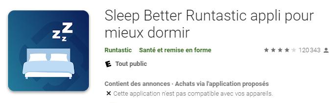 Application Sleep better runbstatic