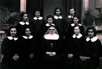 Photo: La Madre con las nuevas Postulantes