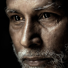 The Vision 'Kalambai by Leyon Albeza - People Portraits of Men ( senior citizen, face, people,  )