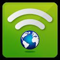 World-Fi. Travel with WiFi icon