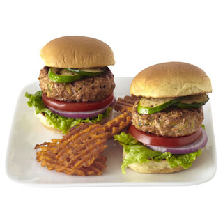 Turkey Tikka Burgers