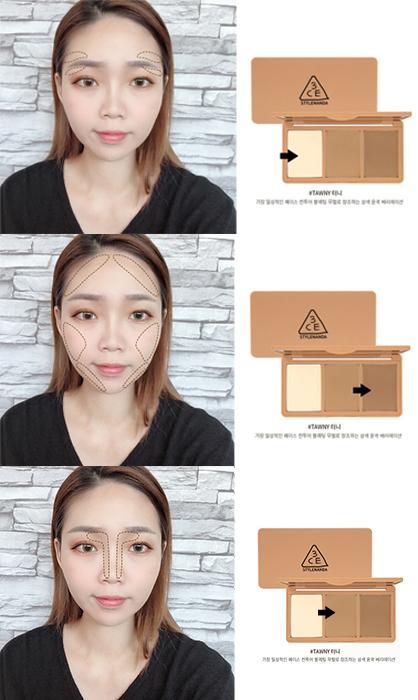 C:\Users\S3-55\Desktop\韓國3CE(3CONCEPT EYES)~小臉神器修容盤+頻閃妝立體打亮盤\5.jpg