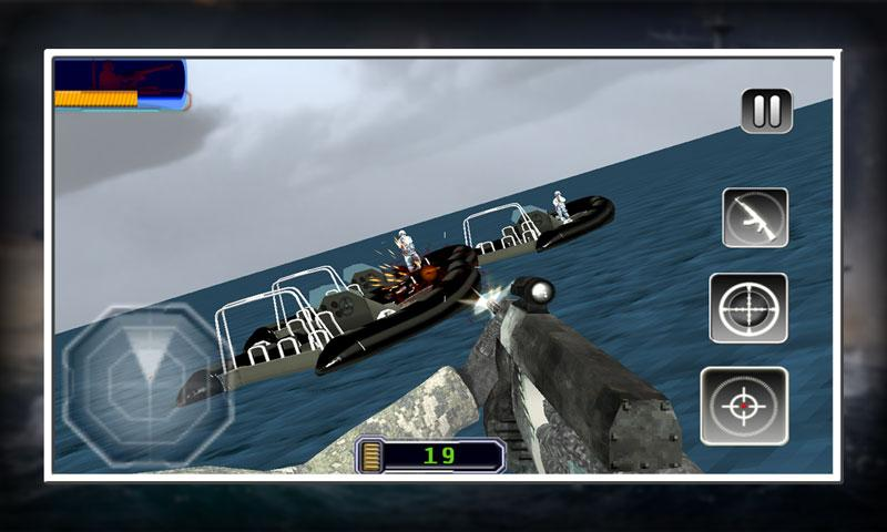 android Sniper X Marine Blitz Screenshot 4