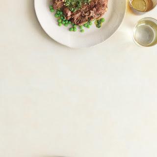 Broiled Lamb Chops with Mint Chimichurri