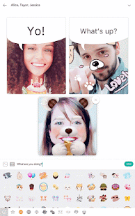 B612 - Take, Play, Share: miniatura de captura de pantalla