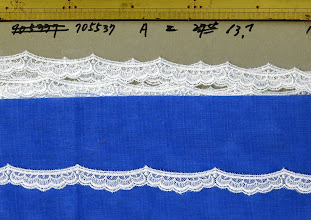 Photo: №705537チュールレースオフ:巾16㎜