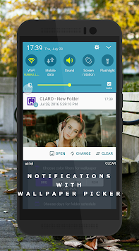 Auto Wallpaper Changer (CLARO Pro) APK screenshot thumbnail 3