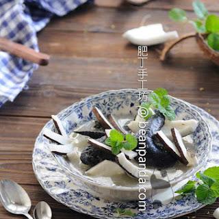 Black Chicken (Silkie) Coconut Soup