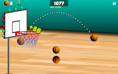 Basketball Sniper APK screenshot thumbnail 2