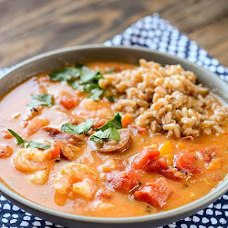 Slow Cooker Spicy Gumbo.
