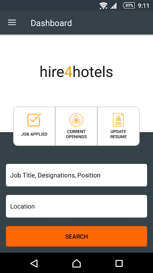 Hotel Jobs In India Screenshot