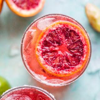 Blood Orange Margaritas.
