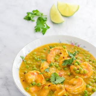 Sweet Potato Curry Shrimp Soup