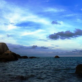 sky and beach by Gilang Franasia - Novices Only Landscapes