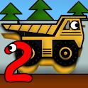 Kids Trucks: Puzzles 2 icon