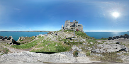 Photo: St Michael's Mount photosphere.