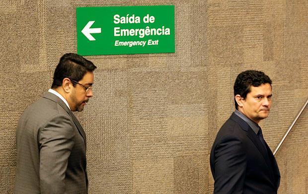o de Janeiro (RJ), 08/12/2017 - Os juízes federais Sérgio Moro e Marcelo Bretas e