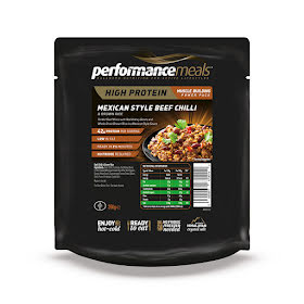 Performance Meal, Mexican Beef