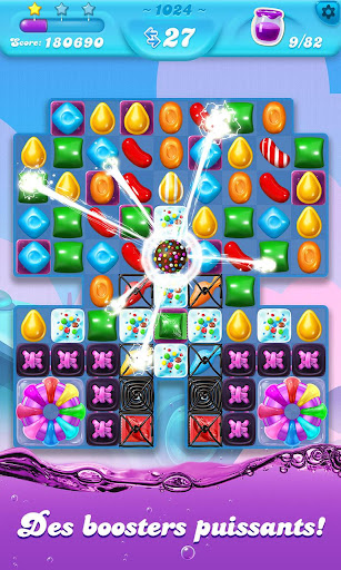 Candy Crush Soda Saga astuce APK MOD capture d'écran 1