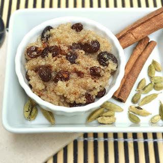 Warm Couscous Pudding (Vegan).