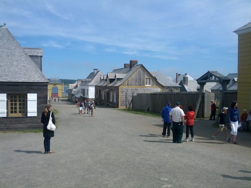 Photo: Fort Louisburg. This reconstructed fort covers 6 blocks, and is only 20% reconstructed. It was a fort and a quite large city in its day. It traded hands between the British and the French numerous times.