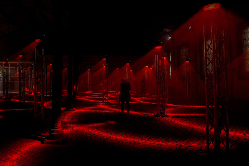Red Laser di Domenico Cippitelli