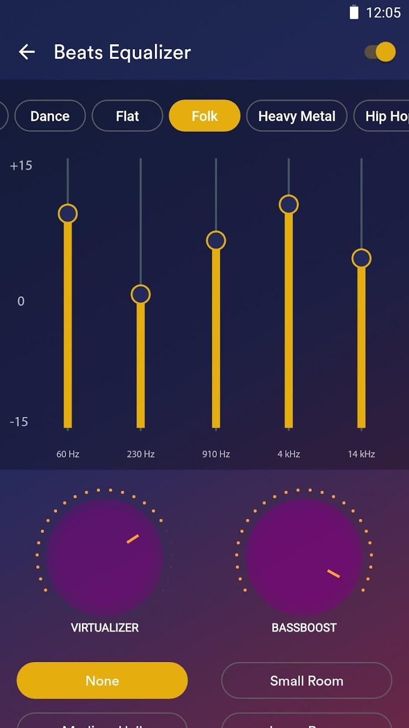 Audio Beats - Mp3 Music Player, Free Music Player Screenshot 4