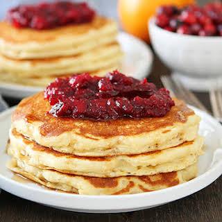 Orange Buttermilk Pancakes.