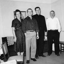 Photo: Fr. Jim's family  1958  Bronx, NY