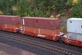 Image result for train of shipping containers