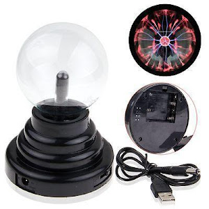 Glob cu Plasma - Lampa decorativa cu efect de fulgere