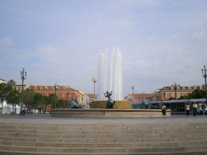 Photo: Fountain in Nice