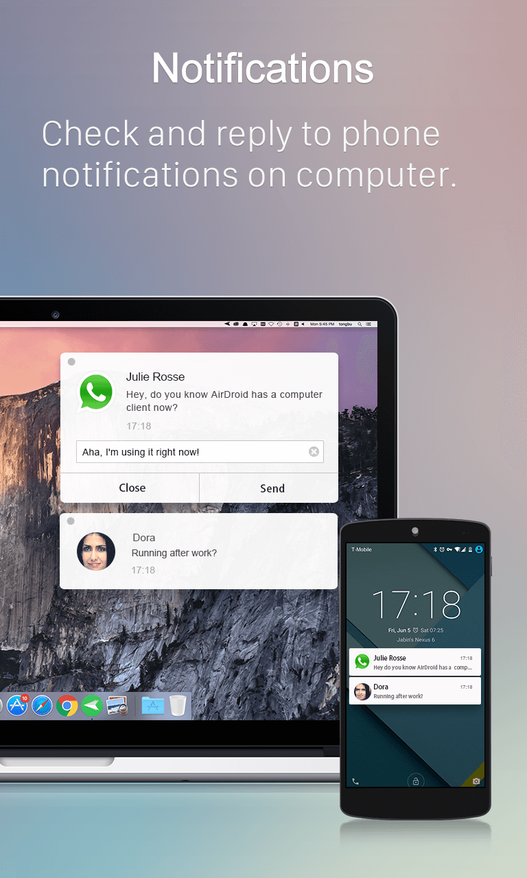 AirDroid: Remote access & File Screenshot 2