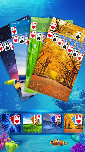 Solitaire - Fish screenshot 9