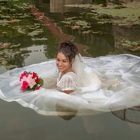Emilia 02 by Carter Keith - Wedding Bride ( rock the frock, wedding dresses, brides, wet bride, wet dresses, trash the dress,  )