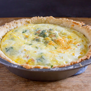 Bacon and White Cheddar Quiche