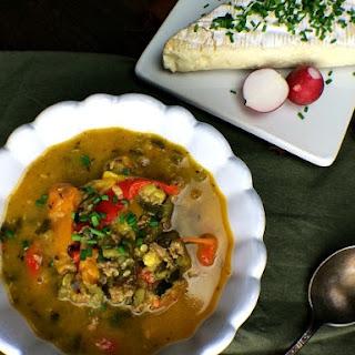 Zucchini Chorizo Butter Stew Recipe