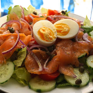 Healthy Smoked Salmon And Egg Salad Recipe .
