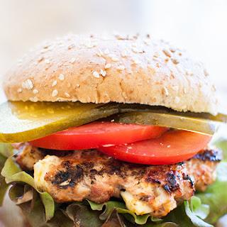 Greek Turkey Burgers with Feta.
