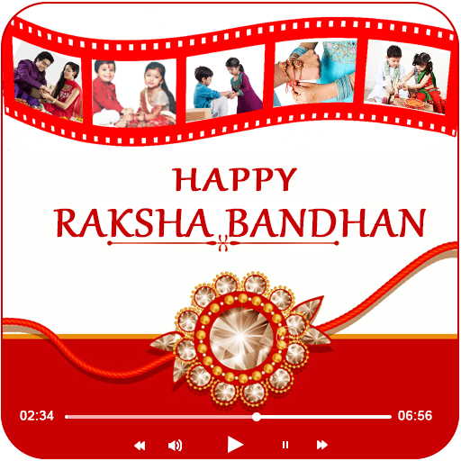 Rakshabandhan : Photo to Video Maker with Music