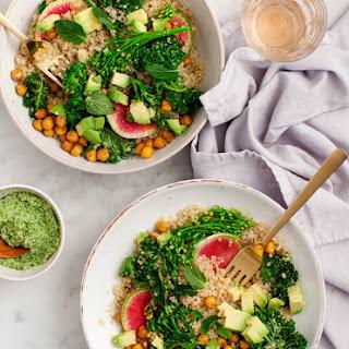 Spring Broccolini Quinoa Bowls