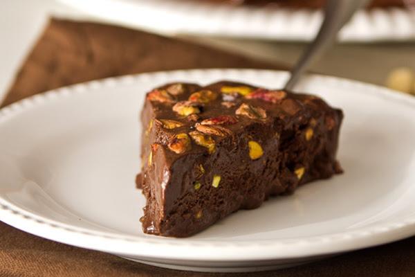 Gelado de Chocolate com Pistache