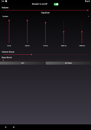 Speaker Booster with Bass Booster and Equalizer 3.1 screenshots 11