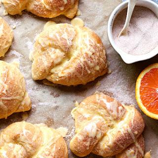 Cinnamon-Sugar Orange Knots.