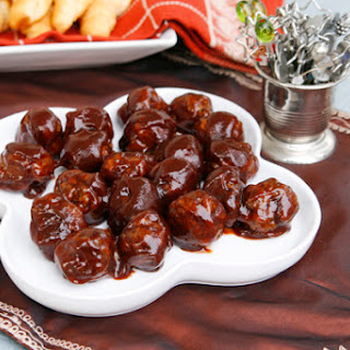 Barbecue Meatballs Appetizer Recipe