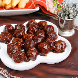 Appetizer Meatballs With Barbecue Sauce Recipes.