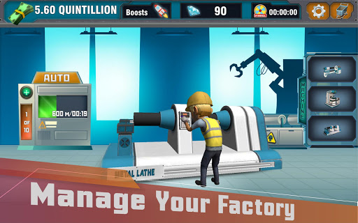 Factory Tycoon : Idle Clicker Game 0.4 screenshots 13