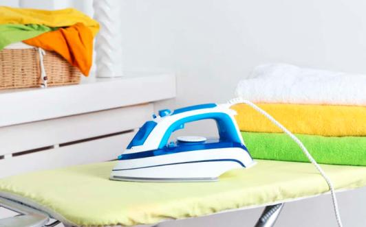 For wrinkle-free iron, both iron mat and iron boards are important. For a handy, portable, and easy to use ironing experience you can see Ironing Mats Review.