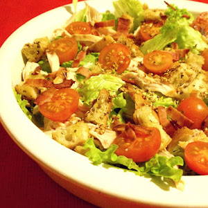Chicken Salad With Croutons